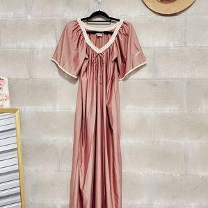 MISS DIOR • 1970's Vintage Dior night gown dress